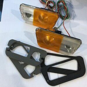 Escort Mk1 Rallye Works Mexico Arrow Imp Hunter Front Side Flasher Lights Refurb