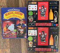 HOCUS POCUS Magic Show By Jumbo 35 Magic Tricks Vintage 1981