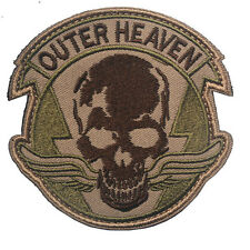 Metal Gear Solid : The Phantom Pain Outer Heaven Logo HOOK & LOOP Patch