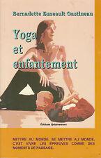 Livre yoga et enfantement B. Esneault Gastineau
