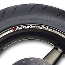 Suzuki Streetfighter Wheel rim stickers decals gsxr sv