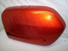 02 HONDA GL1800 GL 1800 GOLDWING RIGHT SIDE CARGO BOX SADDLEBAG COVER LID ORANGE
