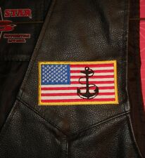 American Flag - Military, Veteran, Navy Patch