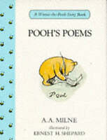 Milne, A. A., Pooh's Poems, Hardcover, Very Good Book