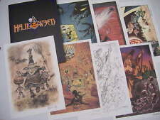 Portfolio Halloween 2004 : HAUSMAN, CLARKE, CARIN, CARYN, Marc HARDY, WALTHERY +