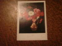 carte postale bonne fete carte aromflor parfum bouquet