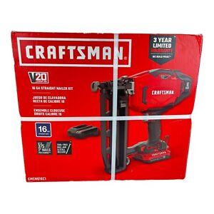 CRAFTSMAN V20 Cordless Finish Nailer Kit 16 Gauge (CMCN616C1)