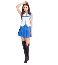 Halloween Cosplay Costume Fairy Tail Lucy Cosplay Skirt Set Anime Cosplay Outfit