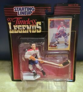 1997 Hockey Starting Lineup Timeless Legends Maurice Richard New In Package