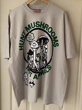 Online Ceramics Hunt Mushrooms 🍄 Not Animals Unworn Shirt Deadstock XXL GRAIL