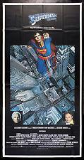 SUPERMAN * CineMasterpieces ORIGINAL 3SH INTERNATIONAL MOVIE POSTER 1978