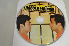 Harold & Kumar Escape from Guantanamo Bay (DVD, 2008)Disc Only Free Shipping