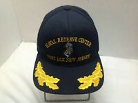 Naval Reserve Center Fort Dix New Jersey Black Adjustable Baseball Cap Hat