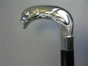 Chrome Plated Brass Derby Handled Black Walking Cane Wooden Shaft handmade gift