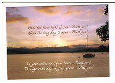 Postcard: The Leprosy Mission - Sunset