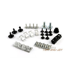 34Pcs Under Engine Lower Plate Fender Repair Kit Clip Screw For AUDI A4 B8 Q5