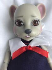 """Tonner Wilde Imagination Evangeline Ghastly CRUMPET MOUSE 5.5"""" RESIN Doll LE BJD"""