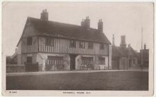 Cromwell House Ely, Cambridgeshire 1909 Real Photo Postcard BC002