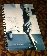 EMMYLOU HARRIS WRECKING BALL AUTOGRAPHED PROMOTIONAL POSTER NICE ITEM!