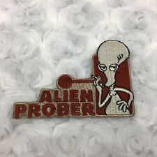 American Dad Roger Alien Prober Iron on Novelty Patch 2005 Fox Seth MacFarlane