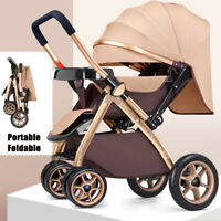 Newborn Baby Pram Car Seat Pushchair Travel System Stroller Lightweight Carrycot