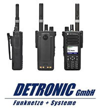 Motorola DP4801e DMR, UHF 403-527MHz, Ni-Mh Akku, GPS inkl. Progammierung