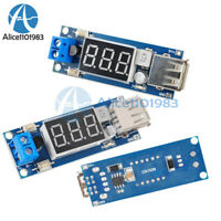 2PCS 2A USB Charger DC-DC 4.5-40V To 5V Step-down Converter Voltmeter Module