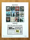 2002 BEST BUY PC Video Games Coupon Print Ad/Poster Max Payne Civilization Sims