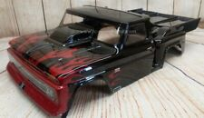 Custom Painted Body 1966 CHEVY C10 STEPSIDE For 1/10 RC Short Course Truck Slash