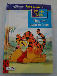 Ladybird Disney's First Readers - Winnie the Pooh -  Tiggers Hate to Lose