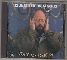 DAVID ESSIG - state of origin CD
