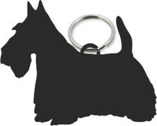 Scottish Terrier Key Ring Fob Scottie Dog Dogs