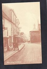 WEST STREET ROCHFORD. POSTCARD (REPRODUCTION).