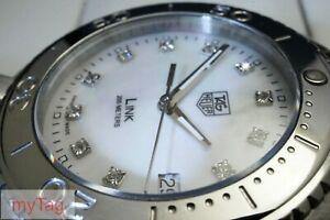 TAG Heuer  Mens Diamond Link Quartz watch WJ1114