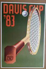 KONRAD KLAPHECK Original Lithographie Davis Cup 1983 Maeght Paris