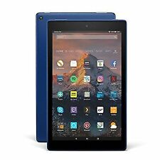 "Amazon Kindle Fire HD 10 10.1 "" Tablet 64gb With Alexa Blue"
