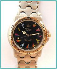 NEW OLD STOCK - Free Watch QUARTZ  >Swiss Made< St. Steel Bracelet - NAUTICAL