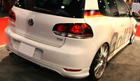 VW GOLF MK6 VI REAR BUMPER LIP / VALANCE / SPOILER