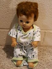 """Old American Character 13"""" Tiny Tears Doll Vintage"""