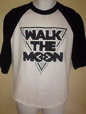 WALK THE MOON BAND TOUR 2015 XL 3/4 SLEEVE  T-SHIRT INDIE POP ROCK OUT OF PRINT