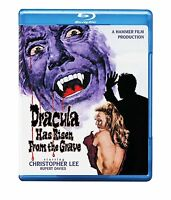 DRACULA HAS RISEN FROM THE GRAVE (1968) -  Blu Ray - Region free