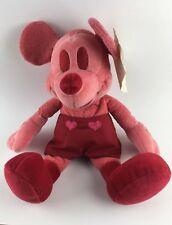 Disney Store Plush Mickey Mouse Valentine Mickey 2002 Rare, Sample For Approval