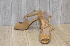 Rose Petals Lissa Dress Sandal-Women's Size 8.5WW Nude
