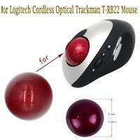 Mausball Trackball Ersatz für Logitech Cordless Optical Trackman T-RB22 Maus