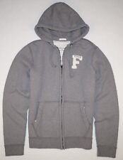 New Abercrombie & Fitch Men's Graphic Full Zip Hoodie Size XL