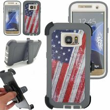 For Samsung Galaxy S7 EDGE Defender Rugged Case w/Screen Clip Fit Otterbox USA