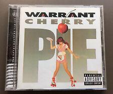 WARRANT - Cherry Pie CD NEW Remastered With 2 Bonus Tracks 2004 Jani Lane Glam
