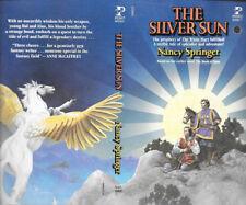 Carl Lundgren autographed Nancy Springer The Silver Sun book cover