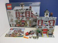 COMPLETE lego 10197 CREATOR EXPERT FIRE BRIGADE STATION MODULAR BUILDING 0323