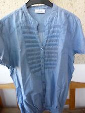 Yessica, Bluse / Shirt , hellblau, Gr. 44